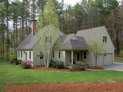 Single Family Home for sales at Custom Built Cape 72 Wilder Lane New London, New Hampshire 03257 United States