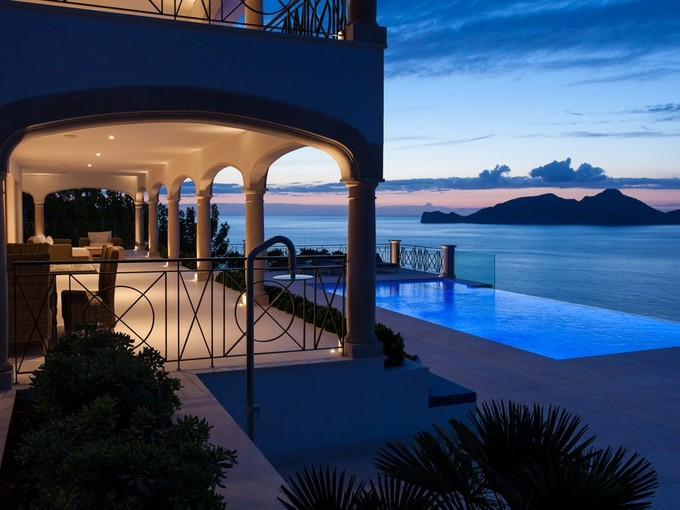 Multi-Family Home for sales at Elegant waterfront luxury villa in Port Andratx  Port Andratx, Mallorca 07157 Spain