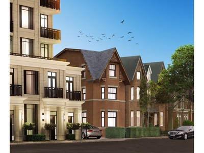 Частный односемейный дом for sales at Custom Dream Home On Hazelton Avenue 129 Hazelton Avenue Toronto, Онтарио M5R2E4 Канада