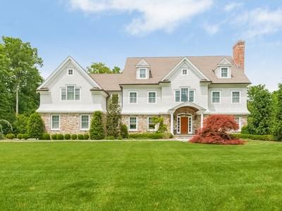 Casa Unifamiliar for sales at Hallmark Of Superior Craftsmanship 57 Coley Road Wilton, Connecticut 06897 Estados Unidos