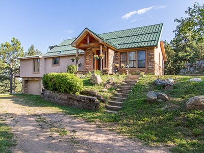 Single Family Home for sales at 8597 S. Deer Creek Canyon Road   Littleton, Colorado 80127 United States