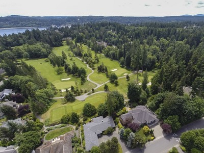 Single Family Home for sales at 15th Hole At Wing Point 1045 High School Road NE Bainbridge Island, Washington 98110 United States
