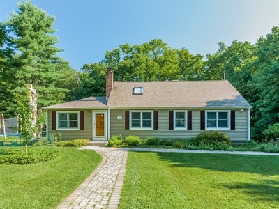 Single Family Home for sales at Lovely 4 Bedroom Cape 38 Parley Road Ridgefield, Connecticut 06877 United States