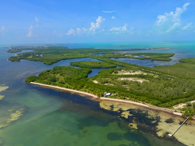 Земля for sales at Private Beach Acreage in the Florida Keys 57290 Overseas Highway  Marathon, Флорида 33050 Соединенные Штаты