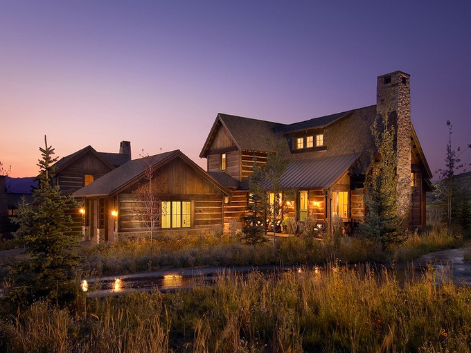 Casa para uma família for sales at Luxury Promontory Trappers Cabin with a Fully Sponsored Club Membership 2996 Trading Post Park City, Utah 84098 Estados Unidos
