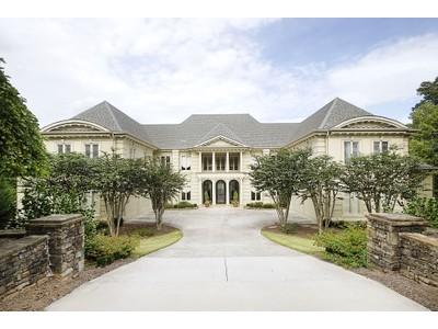 Single Family Home for sales at Extraordinary European Elegance 1275 Stuart Ridge Alpharetta, Georgia 30022 United States
