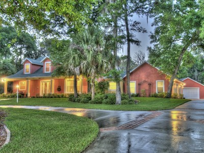 Single Family Home for sales at Port Orange, Florida 639 Overlook Trail Port Orange, Florida 32127 United States