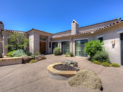 Residência urbana for sales at Recently Updated Tapadero at DC Ranch Villa 9280 E Thompson Peak Pkwy #29  Scottsdale, Arizona 85255 Estados Unidos