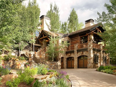 Частный односемейный дом for sales at Modern Day Mountain Lodge 389 Pine Crest Drive  Snowmass Village, Колорадо 81615 Соединенные Штаты