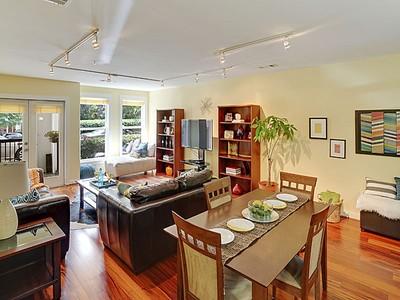 Condominium for sales at Phenomenal Opportunity- Ground Floor Corner Unit! 870 Inman Village Parkway Unit #101 Atlanta, Georgia 30307 United States