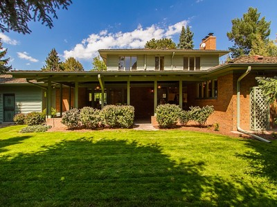 Einfamilienhaus for sales at 27 Polo Club Circle   Denver, Colorado 80209 Vereinigte Staaten