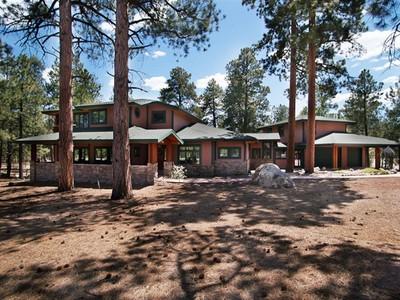 Maison unifamiliale for sales at Extraordinary Westwood Estate 3905 Westwood CIR Flagstaff, Arizona 86001 United States