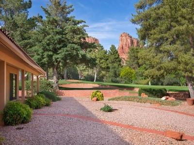 Maison unifamiliale for sales at Stunning Southwestern 160 Red Rock Cove Drive Sedona, Arizona 86351 États-Unis