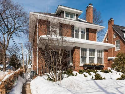 Single Family Home for sales at Lovely Traditional Brick Home 2215 Jenks Street Evanston, Illinois 60201 United States