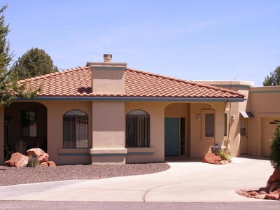 Maison unifamiliale for sales at Wonderful Western Hills Home 55 Roundup Rd 3 Sedona, Arizona 86336 États-Unis