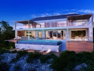 Maison unifamiliale for sales at Beach Enclave - Two Storey Villa- LOT 4 Beachfront Blue Mountain, Providenciales TC Îles Turques Et Caïques
