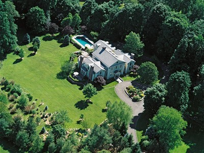 Single Family Home for  at Magnificent Federal Colonial 235 Brushy Ridge Road New Canaan, Connecticut 06840 United States