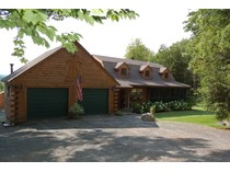 Single Family Home for sales at Amazing 4 Bedroom Log Cabin 276 Springfield Road   Newport, New Hampshire 03773 United States