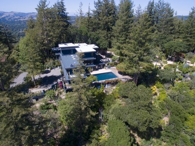 Single Family Home for Sale at Stunning Kent Woodlands Estate 9 Quail Ridge Road Kentfield, California 94904 United States
