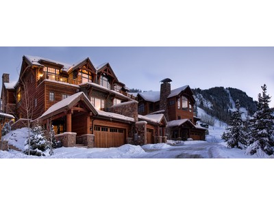 Single Family Home for sales at Thunderbowl Townhome 105 Thudnerbowl Road Aspen, Colorado 81611 United States