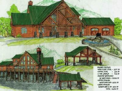 Single Family Home for sales at Bear Ridge Lodge 174 Lodge RIdge Drive Banner Elk, North Carolina 28604 United States