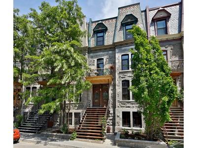 Duplex for sales at Le Plateau-Mont-Royal 3449-3451 Rue St-André  Montreal, 魁北克省 H2L3V4 加拿大