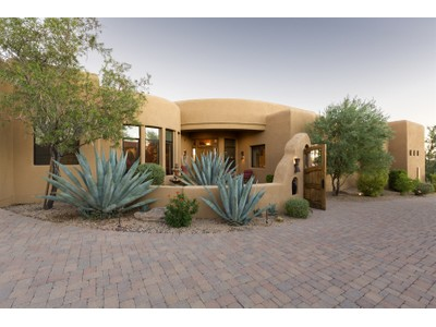 Single Family Home for sales at Warm & Inviting Southwest Territorial Custom Home In Desert Mountain 39661 N 106th Street  Scottsdale, Arizona 85262 United States
