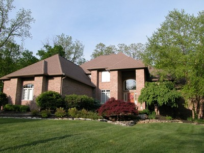 Einfamilienhaus for sales at Executive Residence in Gorgeous Setting 4281 Creekside Pass Zionsville, Indiana 46077 Vereinigte Staaten