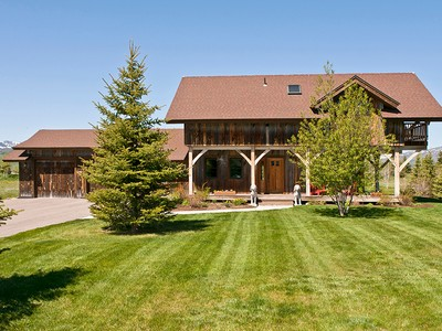 Single Family Home for  at Spectacular Timber Frame Home in Melody 1318 Melody Creek Lane South Jackson Hole, Wyoming 83001 United States