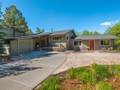 Casa para uma família for sales at Extraordinary Green & Eco Friendly Home 427 E Cherry Ave Flagstaff, Arizona 86001 Estados Unidos