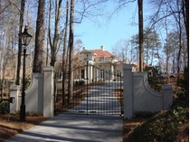 Vivienda unifamiliar for sales at Gated Italianate Estate in Buckhead 4327 E Conway Drive NW  Buckhead, Atlanta, Georgia 30327 Estados Unidos