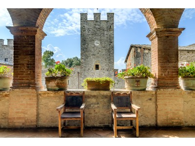 for sales at Glamorous Medieval Castle near Siena   Siena, Siena 53011 Italie