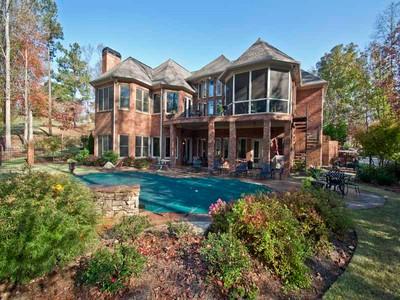 Maison unifamiliale for sales at Masterpiece on Golf Course, Royal Lakes 4560 Thornbury Close Way Flowery Branch, Georgia 30542 États-Unis