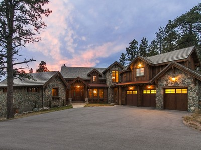Single Family Home for sales at 2929 Highlands View Road  Evergreen, Colorado 80439 United States