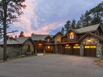Maison unifamiliale for sales at 2929 Highlands View Road  Evergreen, Colorado 80439 États-Unis