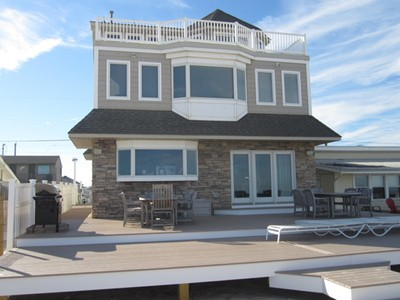 Maison unifamiliale for sales at Beautiful Oceanfront Living 3152 Ocean Road Monterey Beach, New Jersey 08735 États-Unis