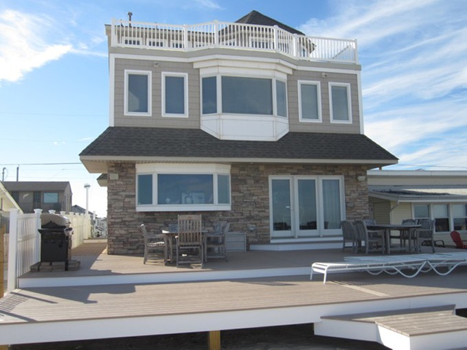 Single Family Home for sales at Beautiful Oceanfront Living 3152 Ocean Road Monterey Beach, New Jersey 08735 United States