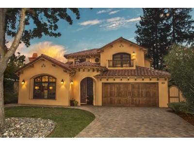 단독 가정 주택 for sales at Luxurious Mediterranean Home in Sought-After Midtown 3318 Waverley St  Palo Alto, 캘리포니아 94306 미국