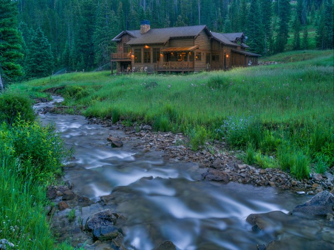 Single Family Home for sales at Private Beaver Creek Waterfront Home 1395 Beaver Creek Road  Big Sky, Montana 59716 United States