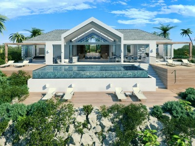 Single Family Home for sales at Beach Enclave - Single Storey Villa Oceanview Blue Mountain, Providenciales TC Turks And Caicos Islands