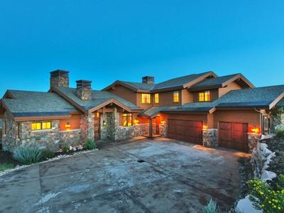 Casa para uma família for sales at Wonderful Home in Promontory's Premier Community 8487 N Sunrise Loop DC-66 Park City, Utah 84098 Estados Unidos