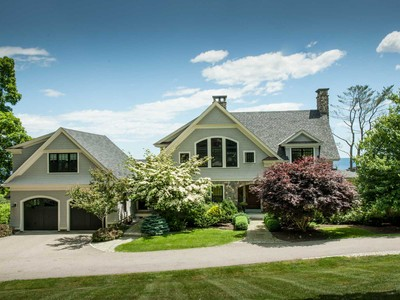 Single Family Home for sales at Pint Cove Oceanfront Residence - Cape Neddick   York, Maine 03902 United States