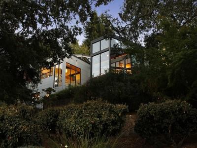Single Family Home for sales at Asian Inspired Modern Masterpiece 3940 Skyfarm Drive  Santa Rosa, California 95403 United States
