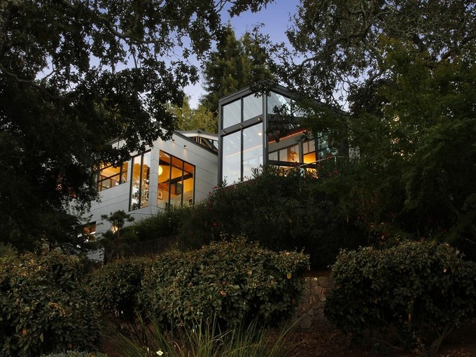 Casa para uma família for sales at Asian Inspired Modern Masterpiece 3940 Skyfarm Drive Santa Rosa, Califórnia 95403 Estados Unidos