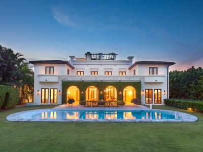 Maison unifamiliale for sales at HUGHES COVE 3310 Devon Court Miami, Florida 33133 États-Unis