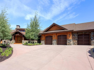 Nhà ở một gia đình for sales at Gorgeous Promontory Custom Home on the Golf Course Offering Mountain Views and T 2989 Westview Trail Park City, Utah 84098 Hoa Kỳ