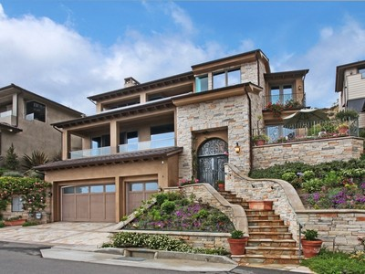 Einfamilienhaus for sales at Laguna Beach 4 Pacific Vista Laguna Beach, Kalifornien 92651 Vereinigte Staaten