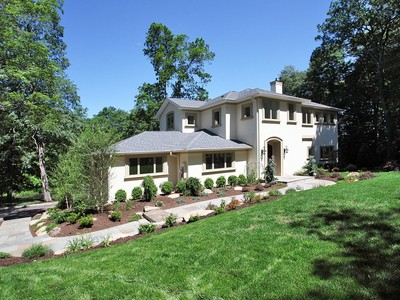 Einfamilienhaus for sales at Sophisticated! 9 Deertrail Road Saddle River, New Jersey 07458 Vereinigte Staaten