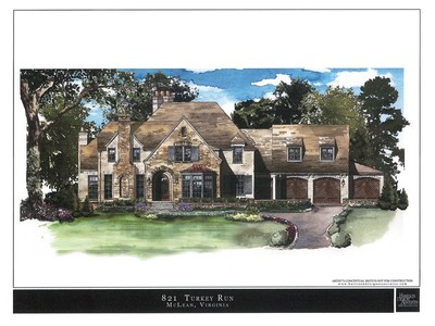 Single Family Home for sales at Turkey Run 821 Turkey Run Rd McLean, Virginia 22101 United States