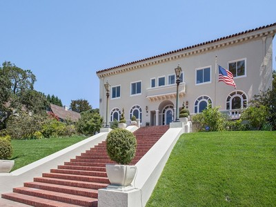 Single Family Home for  at Majestic Piedmont Estate, Rich History, Optimally Sited 60 King Avenue Piedmont, California 94611 United States